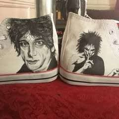 Neil Gaiman/Sandman Shoes