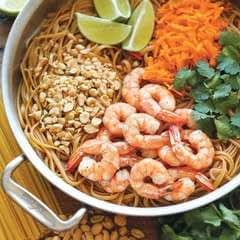 Faux Shrimp Pad Thai