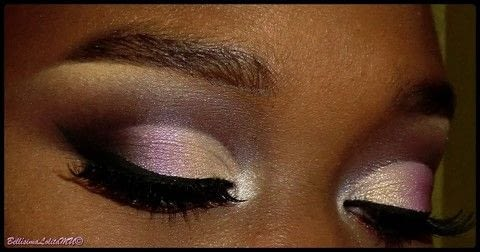 Turn heads with a Semi Cut-Crease sharp enough to slice a man .  Free tutorial with pictures on how to create a cut crease eye makeup look in under 15 minutes by applying makeup with eyeshadow primer, eyeshadow, and eyeshadow. How To posted by Layla C.  in the Beauty section Difficulty: 4/5. Cost: 3/5. Steps: 1