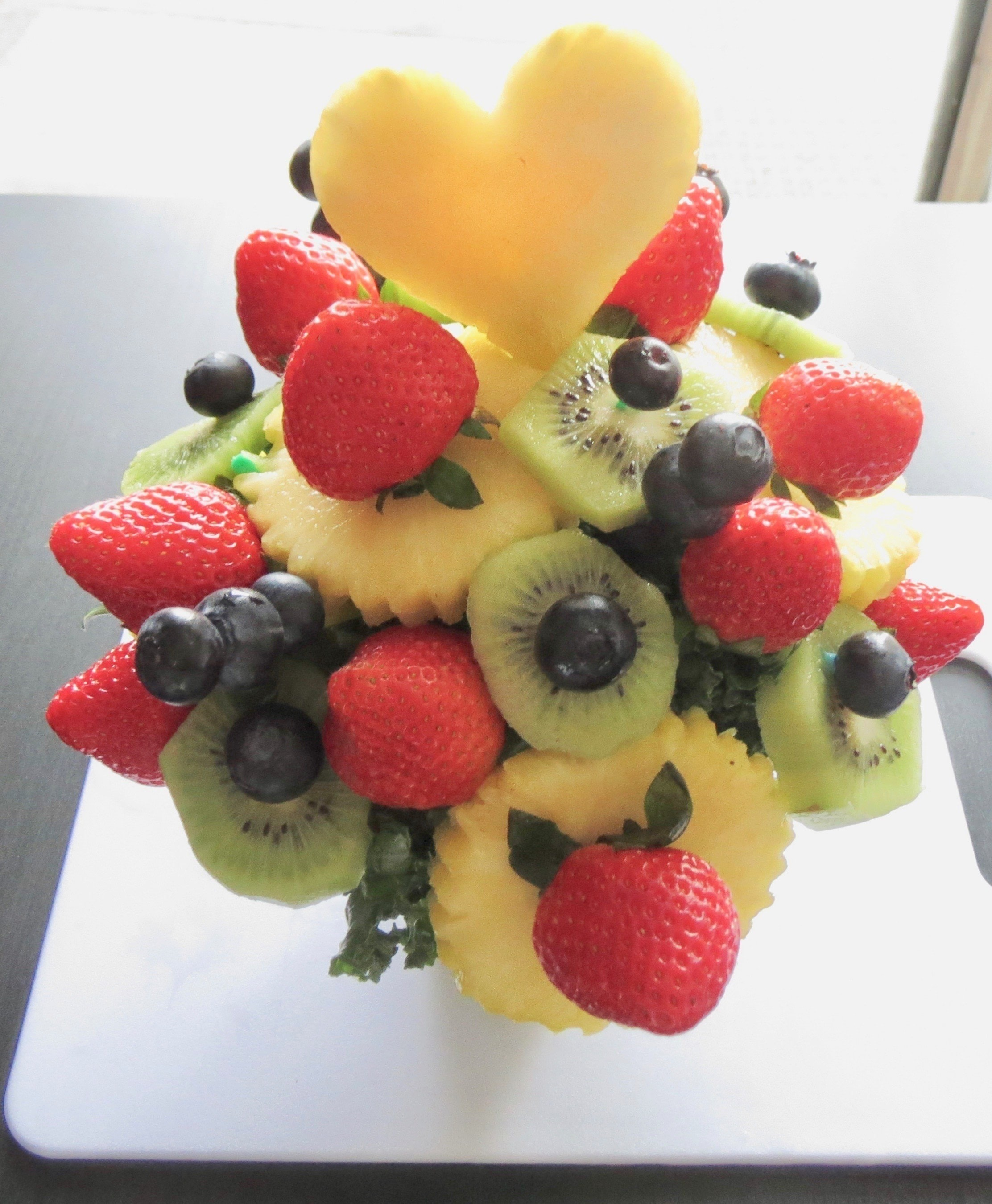 Delectable Decorations Fruit Design How To Make A Fruit Dessert