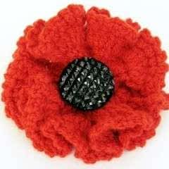 How To Crochet A Poppy To Sell For Charity