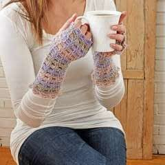 Harmonia Fingerless Mitts