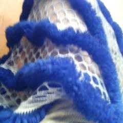 Luscious Drape Ruffle Shawl