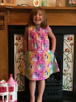 Because friendship is magic! .  Sew a gathered dress by sewing with pillow case and thread. Creation posted by Miranda M.  in the Sewing section Difficulty: 3/5. Cost: Absolutley free.