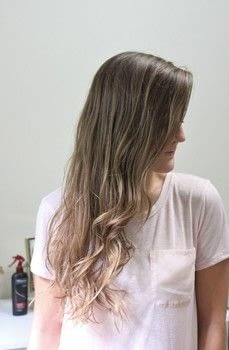 Easy to achieve beach waves .  Free tutorial with pictures on how to style a curly hairstyle / wavy hairstyle in under 10 minutes by hairstyling with hairspray, heat protectant spray, and curling iron. How To posted by Megan.  in the Beauty section Difficulty: Simple. Cost: No cost. Steps: 6