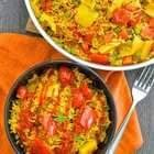 One Pot Spicy Vegetable Rice