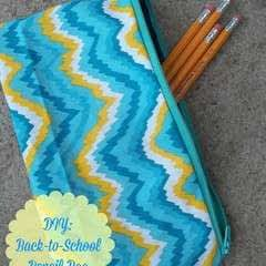 Diy Back To School Pencil Bag