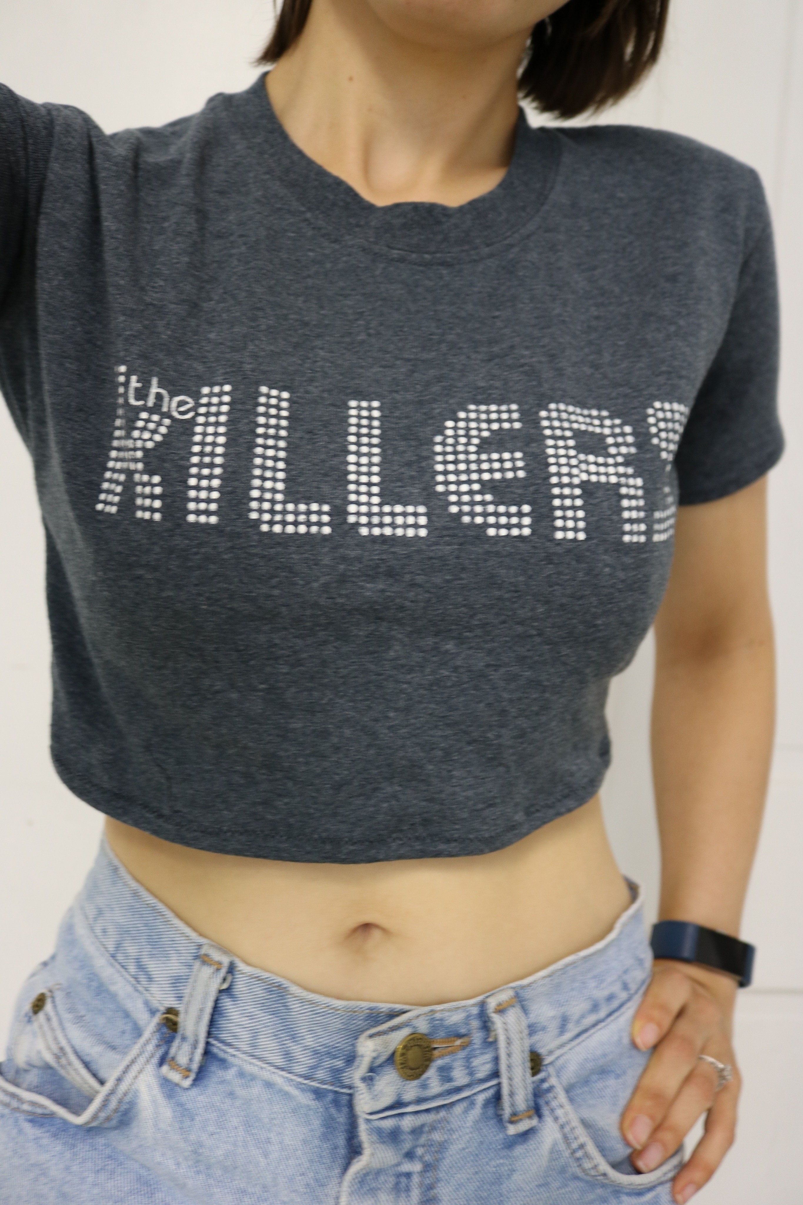 337b5d628074c Diy Tailor A Crop Top · How To Make A Revamped T Shirt · Sewing on ...