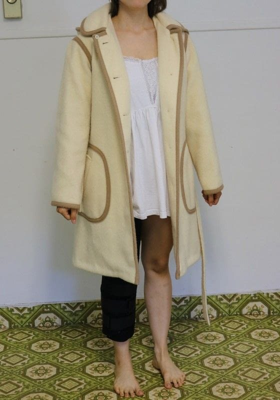 How To Properly Shorten Hem A Vintage Coat 2 183 How To