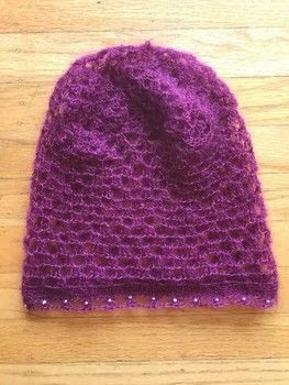 Make a hat that pairs well with summer, a maxi skirt, and a free spirit .  Make a slouchy beanie in under 180 minutes by crocheting with mohair yarn, crochet, and beads. Creation posted by Lindsey Mae.  in the Yarncraft section Difficulty: 3/5. Cost: 4/5.