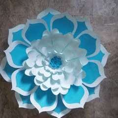 A Real Giant Paper Flower