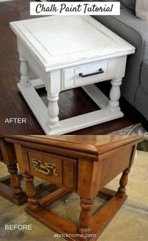 An in-depth tutorial about how to use chalk paint! .  Free tutorial with pictures on how to make a techniques in 8 steps using chalk paint, polyurethane, and hardware. How To posted by Marly D.  in the Home + DIY section Difficulty: 3/5. Cost: Cheap.
