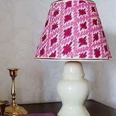 Ikat Inspired Lamp Makeover