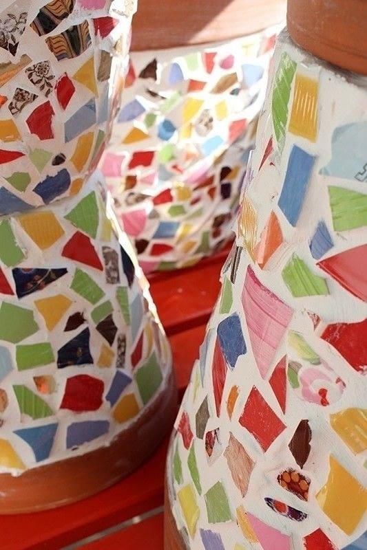 Mosaic Flowerpot 183 How To Make A Mosaic Vase 183 Home Diy