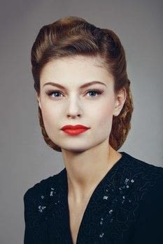 Timeless .  Free tutorial with pictures on how to create a pin-up makeup look in under 60 minutes by applying makeup with lipstick, eyeshadows, and blush. How To posted by Octopus Publishing.  in the Beauty section Difficulty: 3/5. Cost: Cheap. Steps: 14