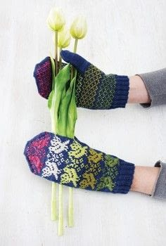 Gradient Knits .  Free tutorial with pictures on how to make mittens in 7 steps by knitting with yarn, double pointed knitting needles, and tapestry needle. How To posted by Search Press.  in the Yarncraft section Difficulty: 4/5. Cost: 3/5.