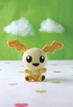 Pocket Amigurumi .  Free tutorial with pictures on how to make a character plushie in 8 steps by crocheting and amigurumi with cotton yarn, fiberfill, and felt. How To posted by Search Press.  in the Yarncraft section Difficulty: Simple. Cost: Cheap.