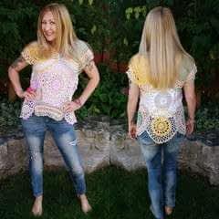 Easy Thrifted Diy Doily Top – No Crochet Skills Needed!