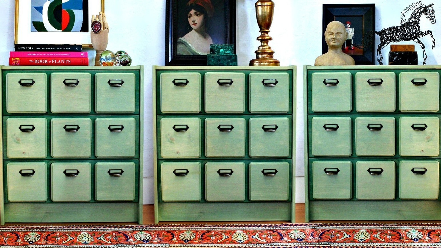 Card Catalog Ikea Hack · How To Make A Drawer / Dresser