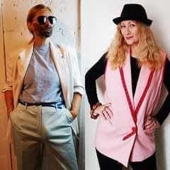 80's Blazer To Oversized Vest Refashion