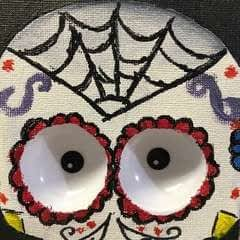 Haunted Sugar Skull Picture