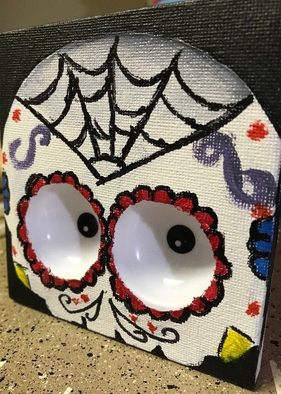Haunted Sugar Skull Picture 183 How To Create A Drawing Or