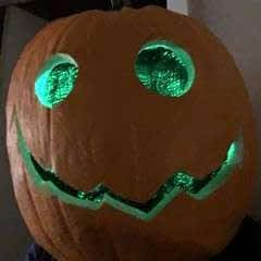 Jack O Lantern Headpiece