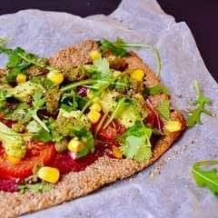 Buckwheat And Chia Crust Pizza