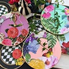 Alice In Wonderland Dishes