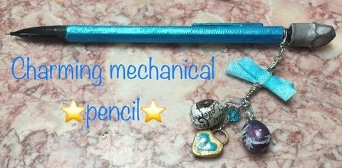 Mechanical pencils just got a lot better .  Make a pens & pencils in under 30 minutes by creating, drawing, decorating, embellishing, jewelrymaking, and wireworking with crystals, nailpolish, and mechanical pencil. Inspired by anime & manga, bows, and blue. Creation posted by Kinhime Dragon.  in the Jewelry section Difficulty: Easy. Cost: No cost.