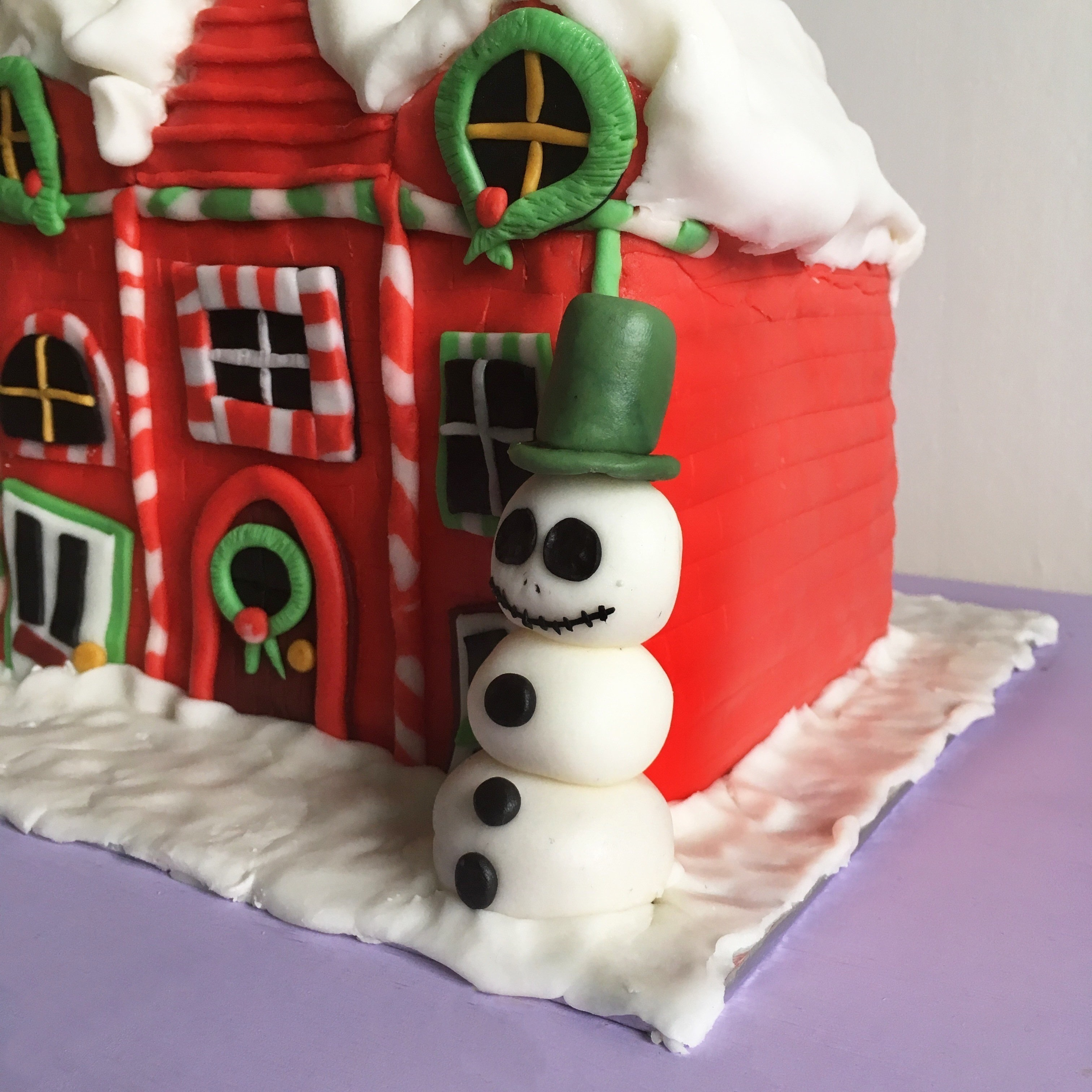 How To Make A Nightmare Before Christmas Cake How To