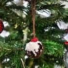 Christmas Pudding Pom Pom