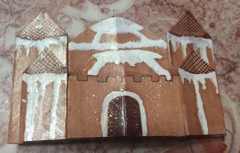 A new twist on a holiday treat .  Make a pop up card by creating, drawing, constructing, decorating, embellishing, papercrafting, paper folding, and scrapbooking with paper, glue, and colors. Inspired by christmas. Creation posted by Kinhime Dragon.  in the Papercraft section Difficulty: Easy. Cost: No cost.