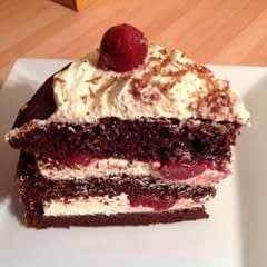 Quick Black Forest Gateau