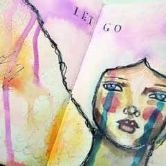 Let Go   Art Journal Tutorial