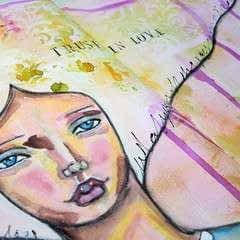 Trust In Love   Art Journal Tutorial