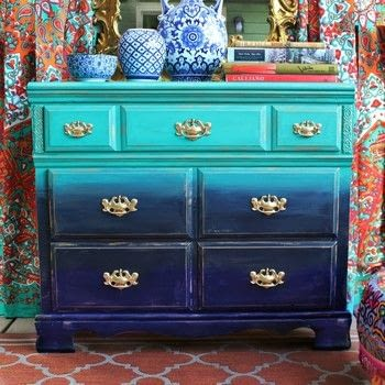 .  Free tutorial with pictures on how to make a drawer / dresser in under 120 minutes by creating, spraypainting, and decorating with spray paint, dresser, and americana decor chalky finish paint. How To posted by Mark Montano.  in the Decorating section Difficulty: Easy. Cost: Cheap. Steps: 3