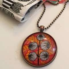 Create A Colourful Pendant Necklace