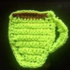 Crochet Mug Coaster