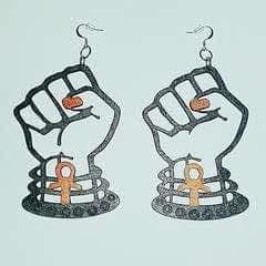 Black Power Fists.