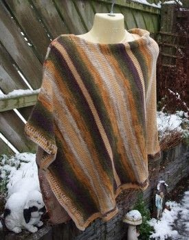 Lightweight poncho .  Stitch a knit or crochet top by crocheting and knitting Creation posted by js-m crafts.  in the Yarncraft section Difficulty: Simple. Cost: 3/5.