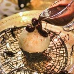 Christmas Pudding Mousse Bombe