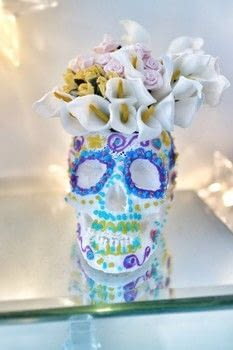 Decorate a skull with 3D swirls and decorations! .  Free tutorial with pictures on how to make a vase in under 15 minutes using skull, 3d printing pen, and 3d printing filament. Inspired by sugar skulls. How To posted by Cat Morley.  in the Decorating section Difficulty: Simple. Cost: Cheap. Steps: 13