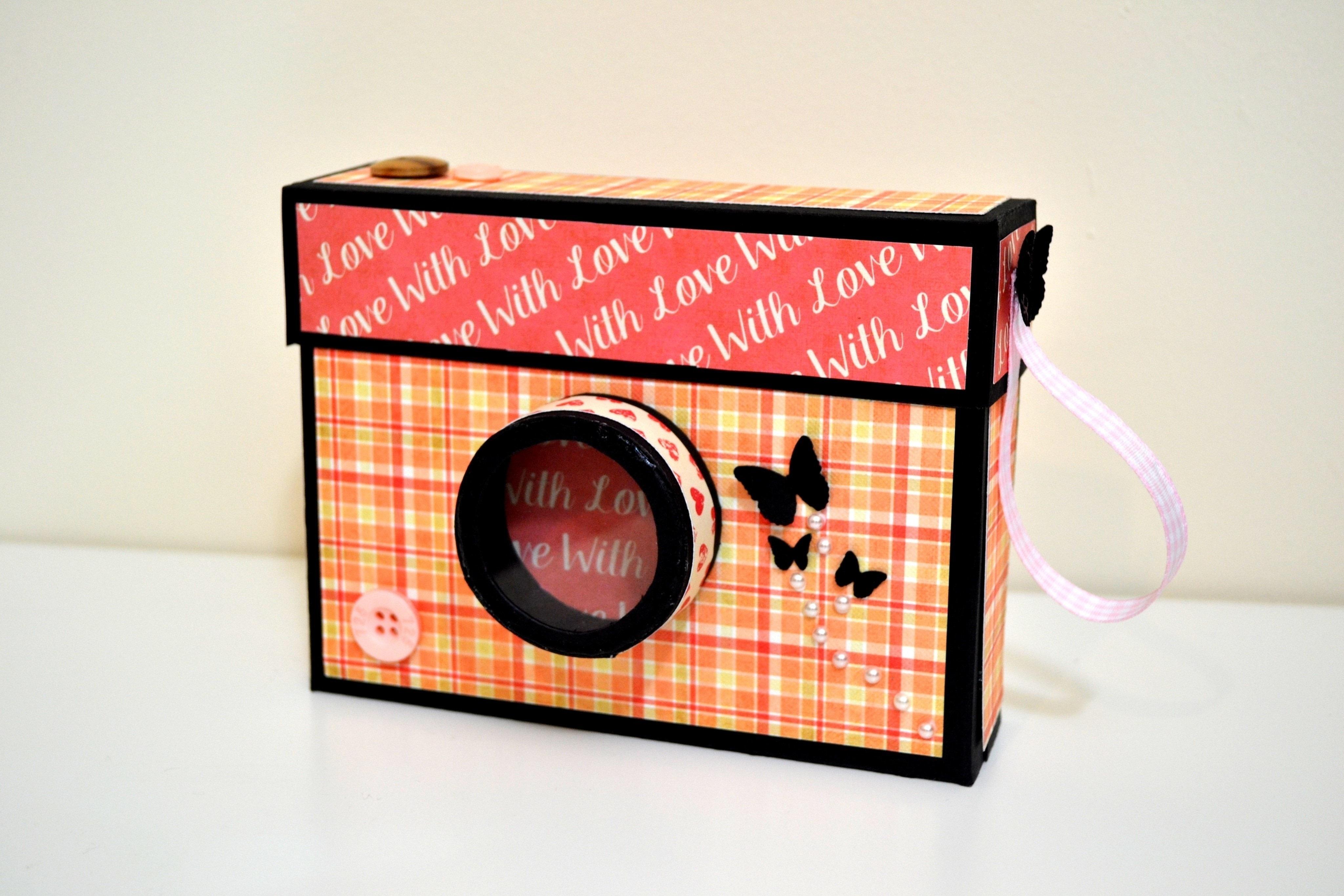 Homemade Toys: Paper Photos Cameras