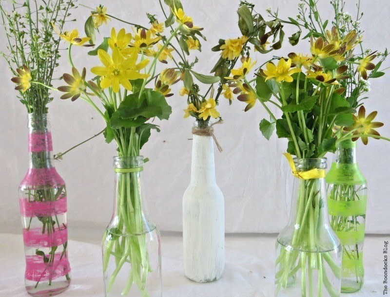 How To Re Purpose Soy Sauce Bottles How To Make A Vase