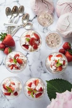 Artful Eating .  Free tutorial with pictures on how to bake an Eton mess in under 5 minutes by cooking with strawberries, caster sugar, and whipping cream. Recipe posted by Black & White Publishing.  in the Recipes section Difficulty: Simple. Cost: Cheap. Steps: 6