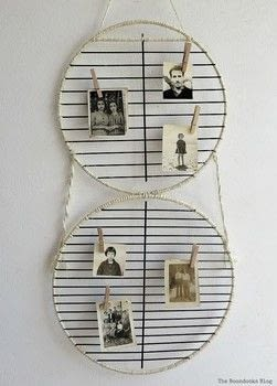 A simple and fun way to display photos .  Free tutorial with pictures on how to make a photo holder in under 60 minutes using twine, clothes pin, and racks from barbecue. Inspired by vintage & retro. How To posted by Mary-The Boondocks Blog ..  in the Home + DIY section Difficulty: Easy. Cost: Absolutley free. Steps: 5
