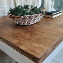Upcycling An Old Laminate Table With Gel Stain