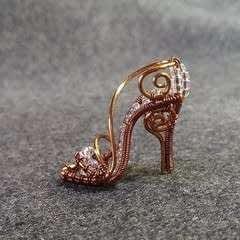 Cinderella's Shoe Pendant