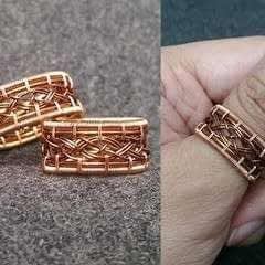 Unisex Knot Ring